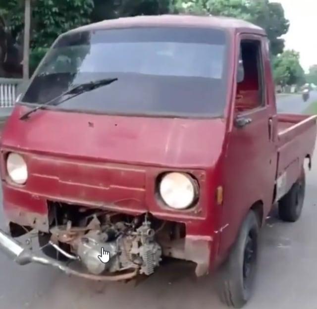 Mobil Pikap Pakai Mesin Suzuki Shogun, Reaksi Netizen: Esemka Nangis Lihat Ini  (207927)
