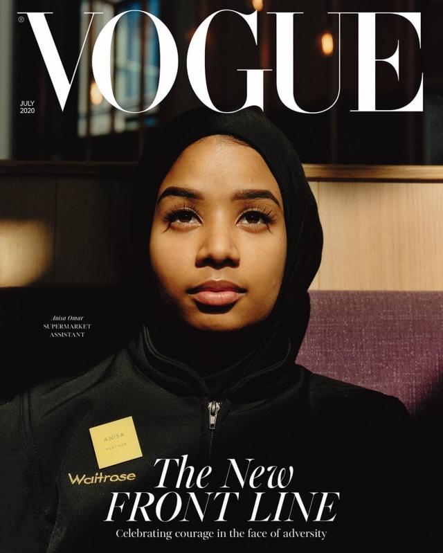 Anisa Omar, Karyawan Supermarket yang Jadi Cover Vogue
