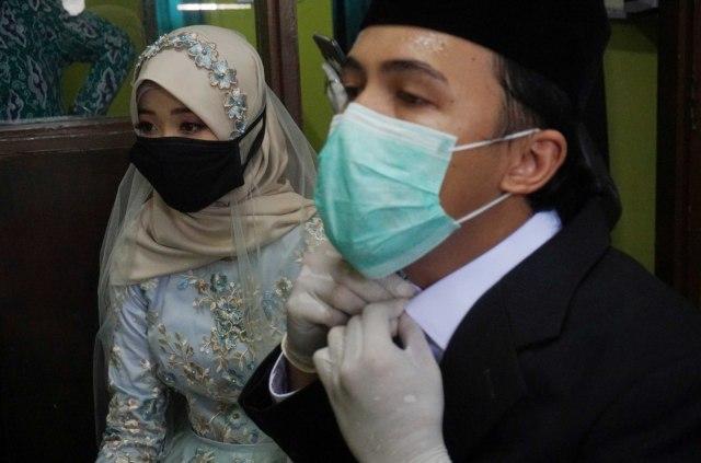 KUA di Aceh Tolak Layani Calon Pengantin Jika Tak Bermasker (174)