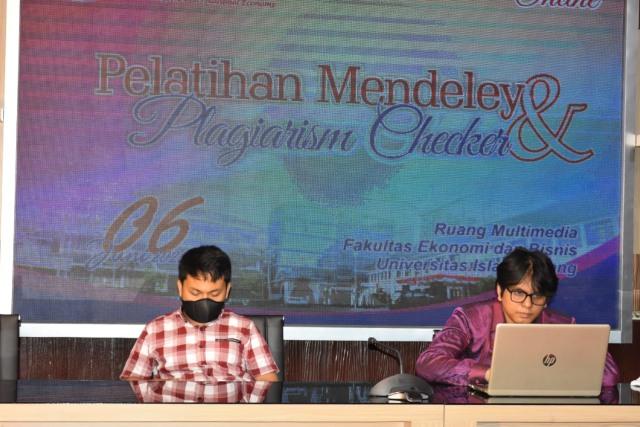 FEB Unisma Gelar Pelatihan Mendeley dan Plagiarism Check (202)