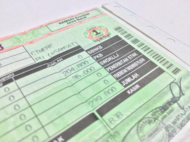 PSBB Ketat Berlaku, Pembayaran Pajak Kendaraan Dapat Dispensasi Lagi? (68111)