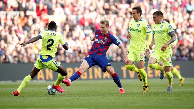 Kalau Messi Pensiun, Frenkie de Jong Bisa Jadi Bintang Baru Barcelona (1210217)