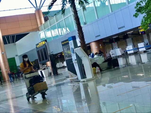 Foto: Suasana Bandara Supadio Pontianak Setelah Penerbangan Dibuka Kembali (86702)