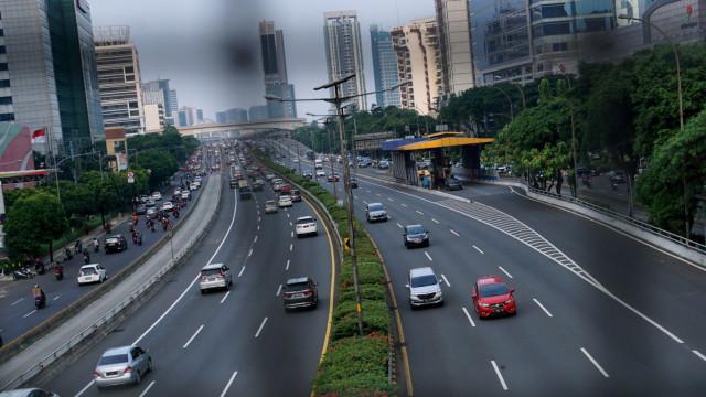 Emak-emak Pemotor yang Masuk Tol Tak Ditahan, Hanya Ditilang dan Didenda (298410)