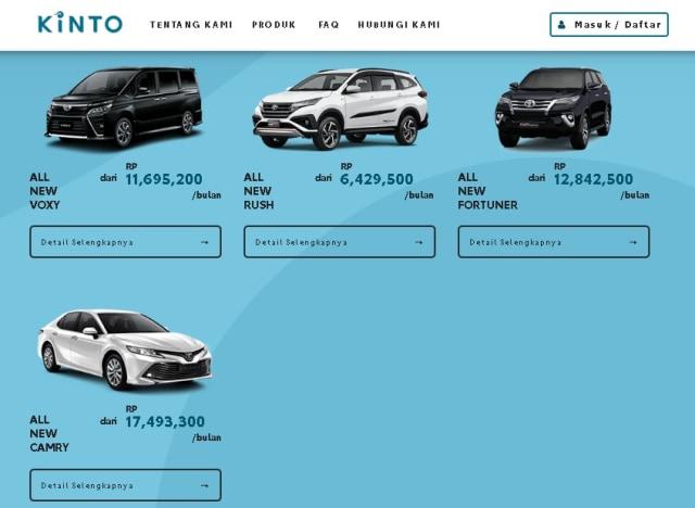 TAF Rambah Bisnis Sewa Mobil, Tarifnya Mulai dari Rp 4 Jutaan per Bulan (1301345)