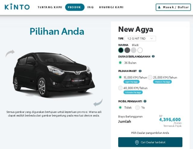 Punya Mobil dengan Skema Berlangganan, Toyota Avanza dan Innova Jadi Primadona (33729)