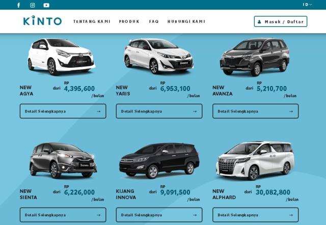 TAF Rambah Bisnis Sewa Mobil, Tarifnya Mulai dari Rp 4 Jutaan per Bulan (1301344)