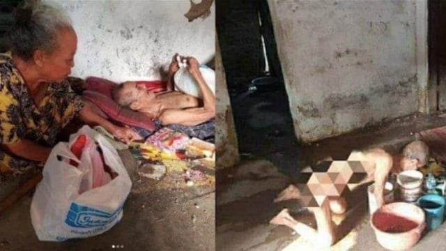 Kisah Miris Mbah Sarani yang Kelaparan hingga Makan Kapuk Bantal (125202)