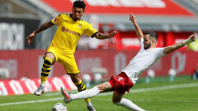 Dortmund soal Jadon Sancho jadi Target MU: Dia Masih Punya Kontrak 2 Tahun (222374)