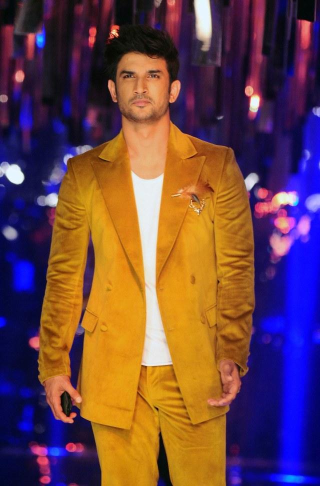 PTR- Aktor Bollywood Sushant Singh Rajput