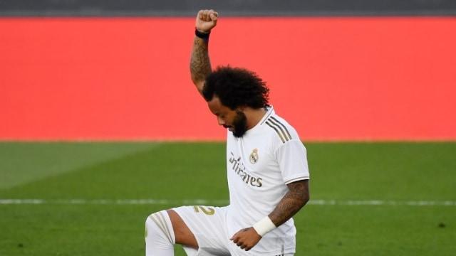 Bek Real Madrid, Marcelo, Berlutut untuk Kematian George Floyd (262000)