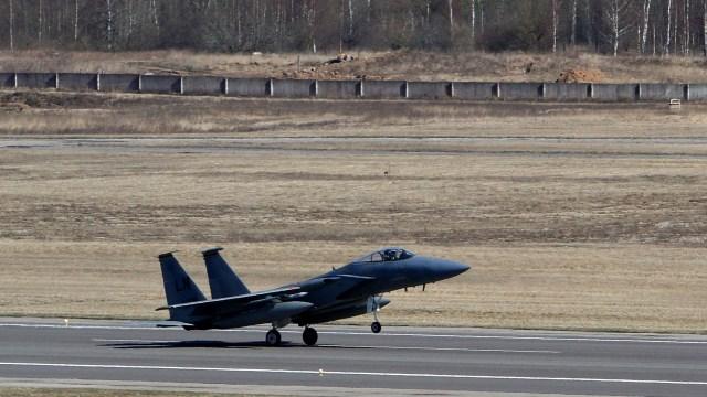 Jet Tempur F-15 Ganggu Maskapai Sipil, Iran Kecam AS (39884)