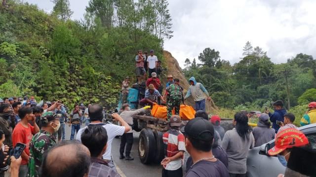 evakuasi pria tanpa identitas deli serdang sumut