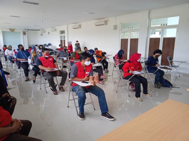 PMI Latih Relawan Membuat Sabun Cuci Tangan dan Bagikan Gratis kepada Masyarakat (105363)