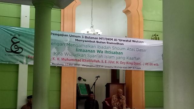 Drs. KH. Ahmad Rifa'i Menurut Saya : Catatan Kebersamaan Dengan Abah (6)