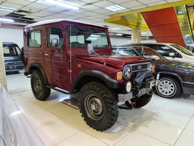 Daihatsu Taft 'Kebo' Berumur 36 Tahun Dijual Rp 130 Juta, Berminat?  (121038)