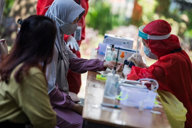 Rapid test di Itenas, Bandung