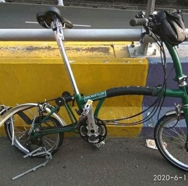 Belajar dari Kasus Kecelakaan Sepeda Brompton di Jalan Raya (5155)