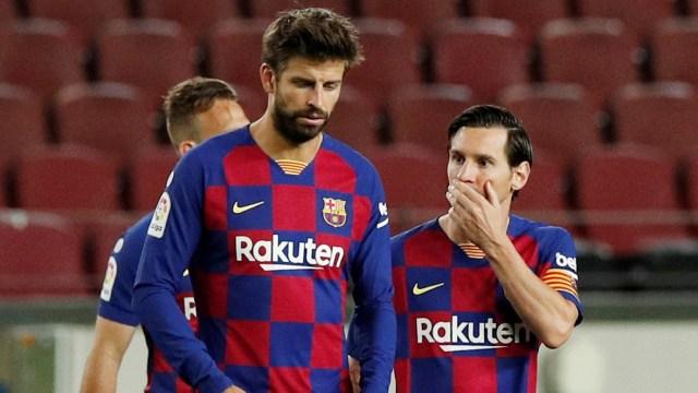 Apes Barcelona Bertambah: Gerard Pique dan Sergi Roberto Cedera (108904)