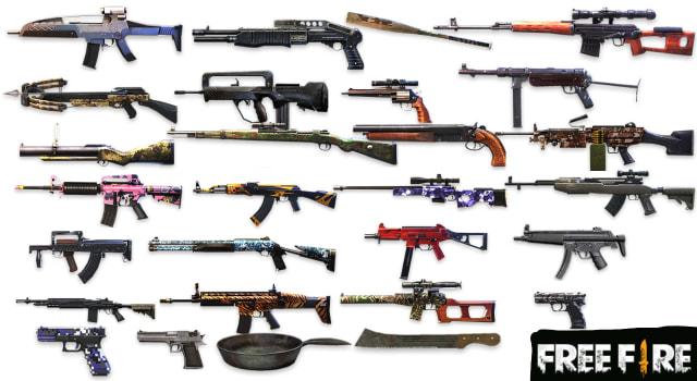 5 Kombinasi Senjata Free Fire Ff Ala Turnamen Ffim Kumparan Com