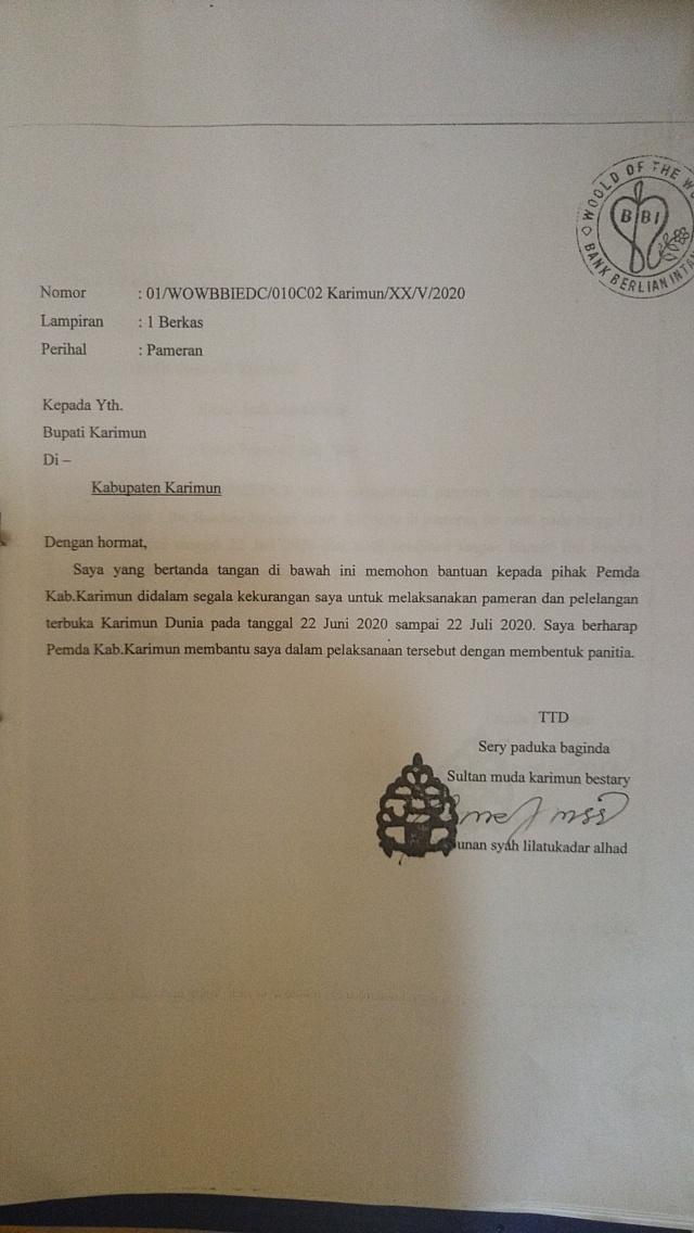 Polisi Amankan Benda-benda Kerajaan Negeri Sery Karimunan Mulia Bestari (340082)