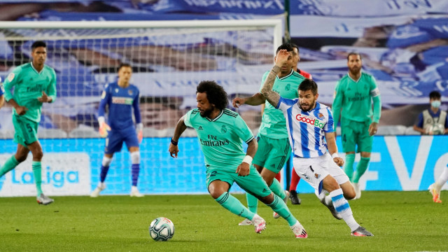 Live Streaming Real Sociedad vs Real Madrid di Liga Spanyol (101697)