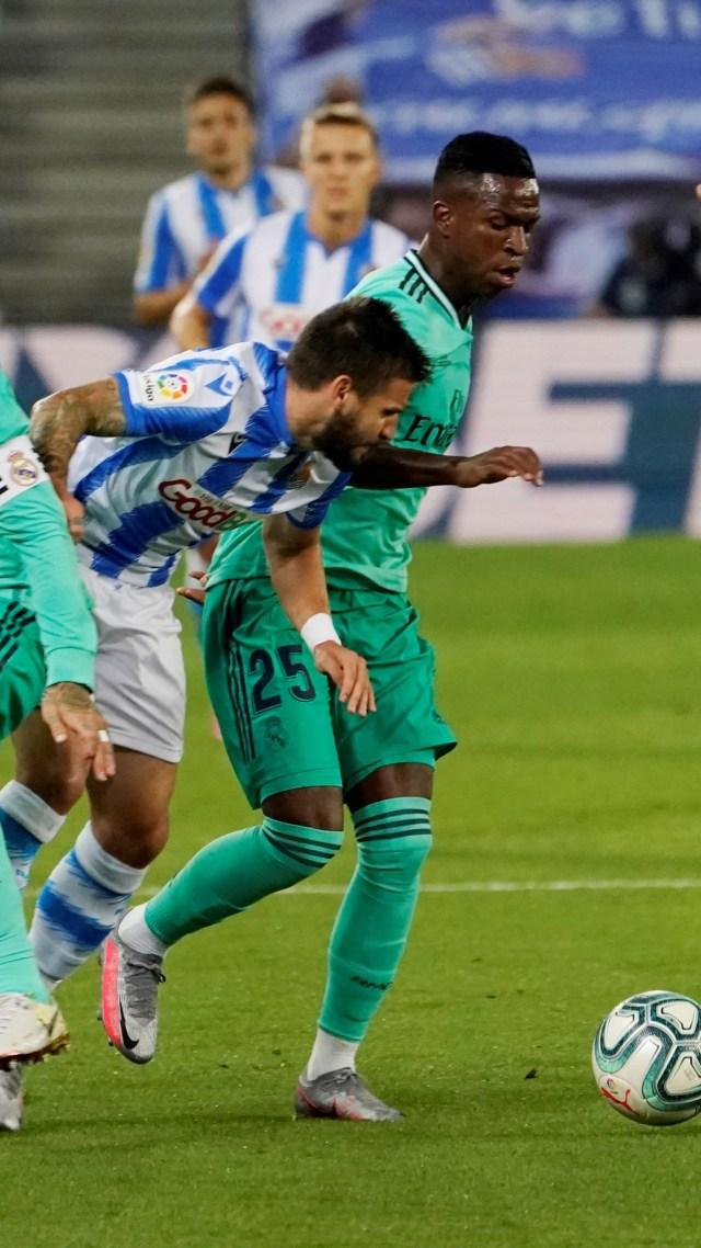 Live Streaming Real Sociedad vs Real Madrid di Liga Spanyol (101696)