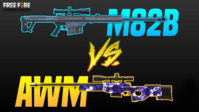 Senjata Free Fire Ff M82b Dan Awm Bagusan Mana Ya Kumparan Com