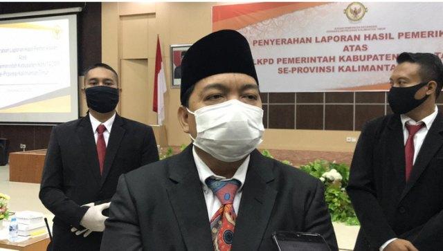 10 Kabupaten dan Kota di Kaltim Terima Hasil Pemeriksaan LKPD Tahun 2019 (11554)