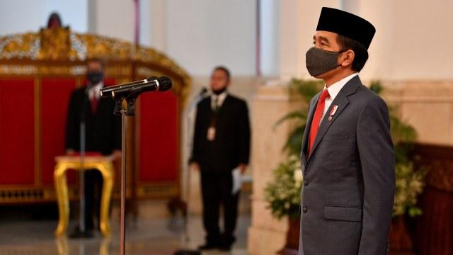 Jokowi Lantik 17 Anggota Konsil Kedokteran Indonesia 2020-2025 (15952)