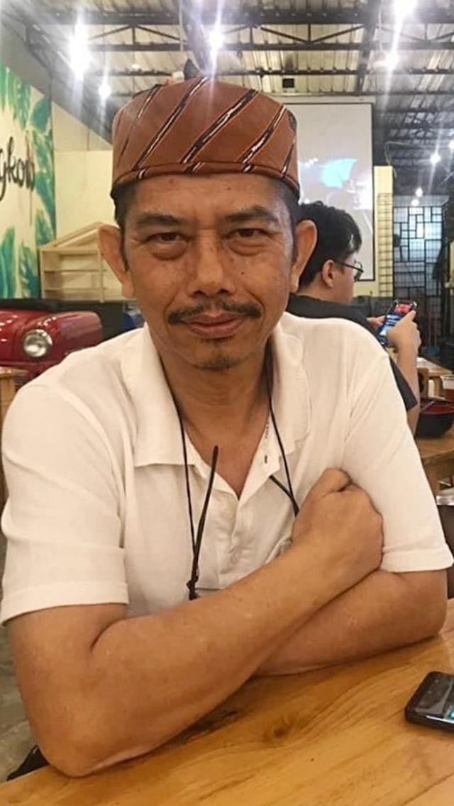 PTR - Sekretaris DPC Gerindra Medan John Sari Haloho