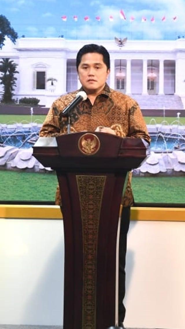 Erick Thohir Batalkan Pembentukan Holding BUMN Perbankan (77102)