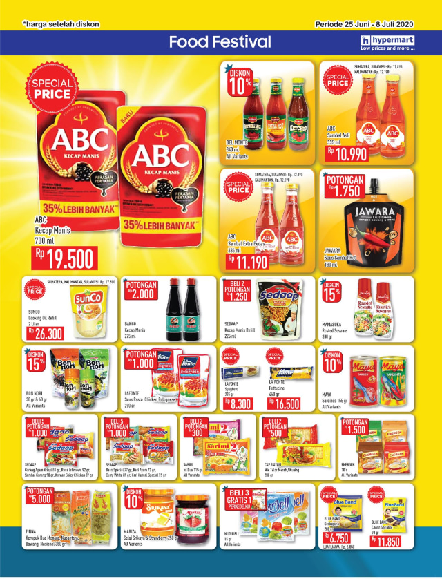 Katalog Promo Hypermart 25 Juni-8 Juli, Penawaran Menarik dengan Harga Spesial (210300)