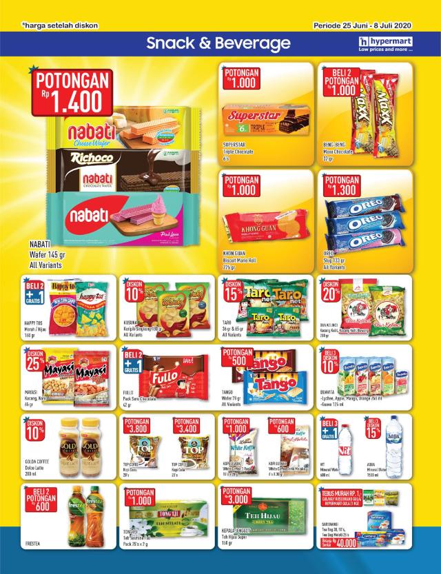 Katalog Promo Hypermart 25 Juni-8 Juli, Penawaran Menarik dengan Harga Spesial (210301)