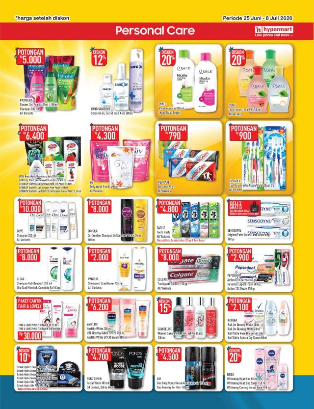 Katalog Promo Hypermart 25 Juni-8 Juli, Penawaran Menarik dengan Harga Spesial (210302)