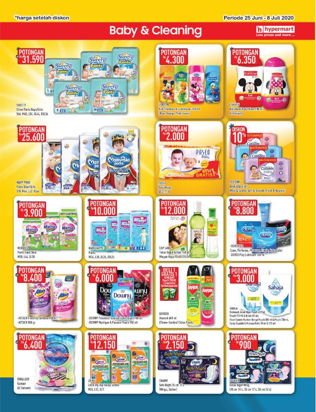 Katalog Promo Hypermart 25 Juni-8 Juli, Penawaran Menarik dengan Harga Spesial (210303)