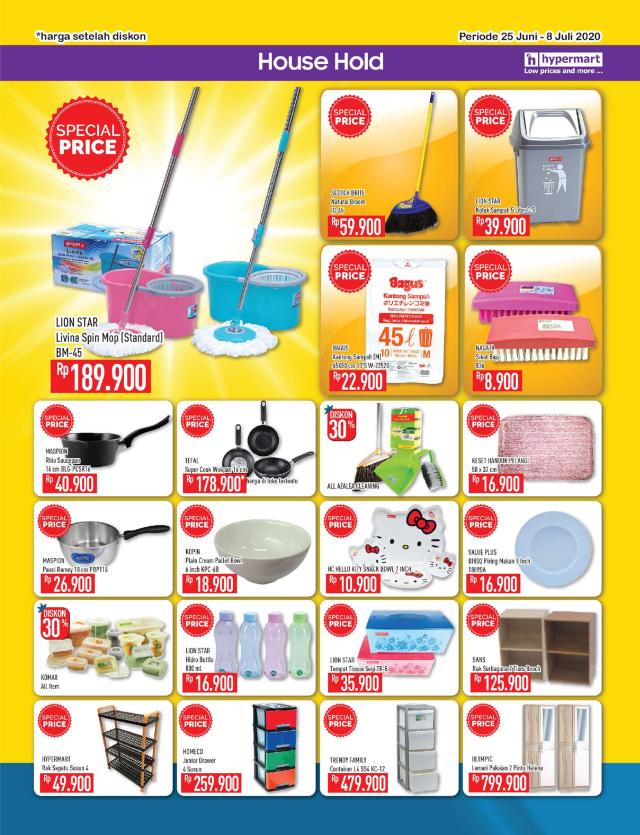 Katalog Promo Hypermart 25 Juni-8 Juli, Penawaran Menarik dengan Harga Spesial (210304)