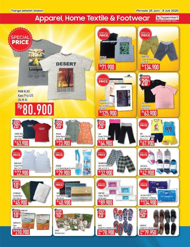 Katalog Promo Hypermart 25 Juni-8 Juli, Penawaran Menarik dengan Harga Spesial (210305)