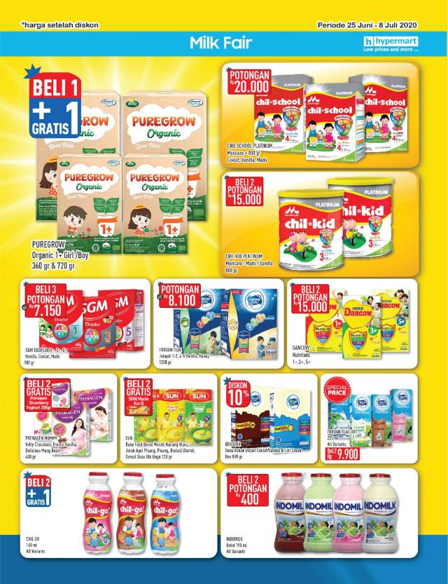Katalog Promo Hypermart 25 Juni-8 Juli, Penawaran Menarik dengan Harga Spesial (210309)
