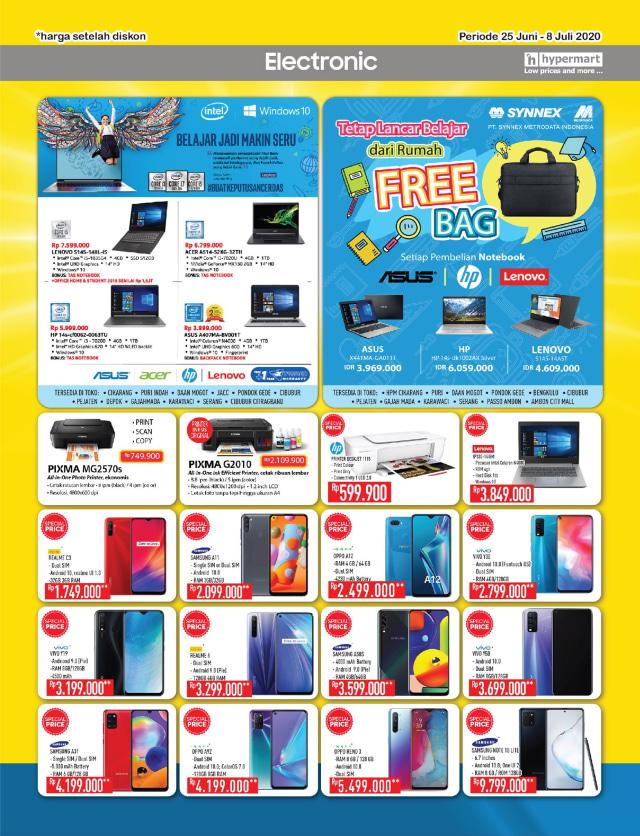Katalog Promo Hypermart 25 Juni-8 Juli, Penawaran Menarik dengan Harga Spesial (210310)