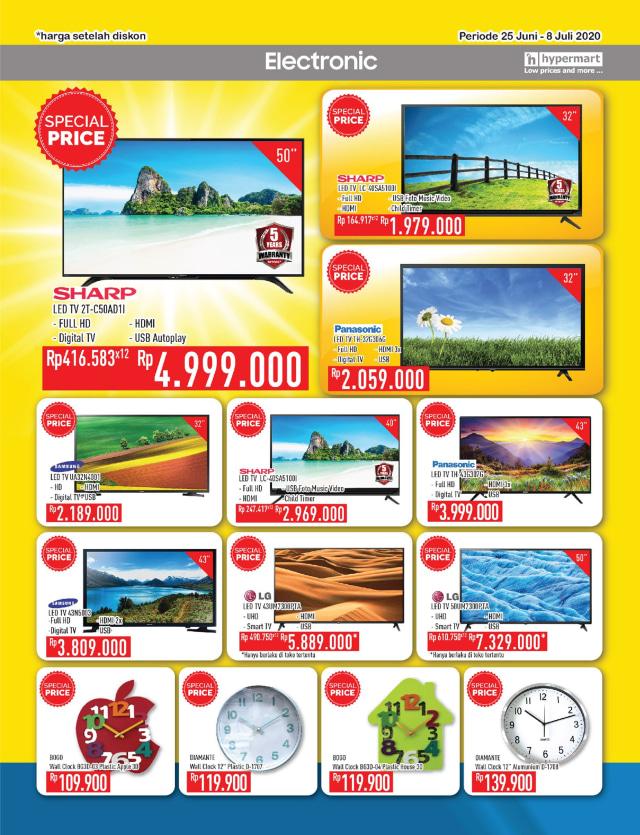 Katalog Promo Hypermart 25 Juni-8 Juli, Penawaran Menarik dengan Harga Spesial (210311)