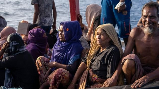 Pengungsi Rohingya di Aceh Utara Dipindahkan ke Bekas Kantor Imigrasi (67066)