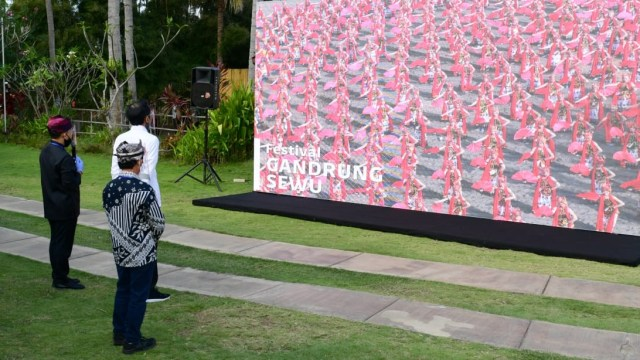 Jokowi di Banyuwangi-New Normal