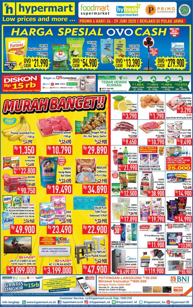 Katalog Promo Hypermart JSM Weekend Hari ini, Periode 26 - 29 Juni 2020 (13234)