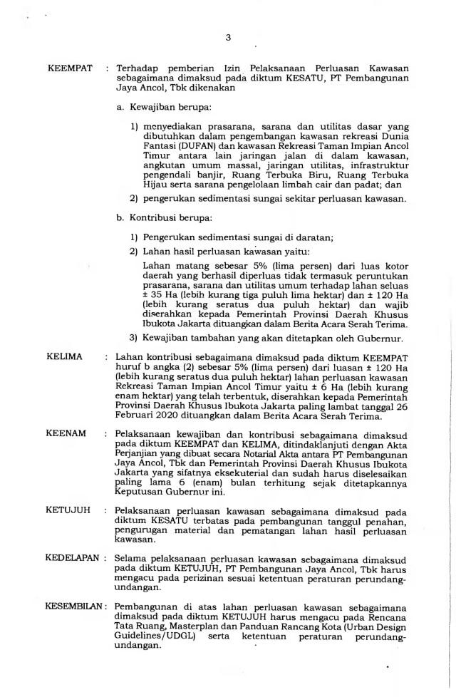 Anies Jelaskan Alasan Terbitkan Kepgub untuk Reklamasi Ancol  (25176)