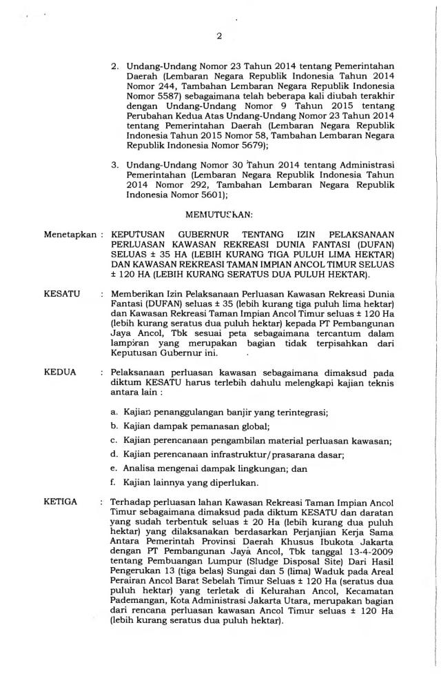 Anies Jelaskan Alasan Terbitkan Kepgub untuk Reklamasi Ancol  (25175)