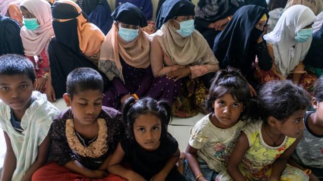 Bikin Haru, Tatapan Anak Pengungsi Rohingya di Aceh  (229752)