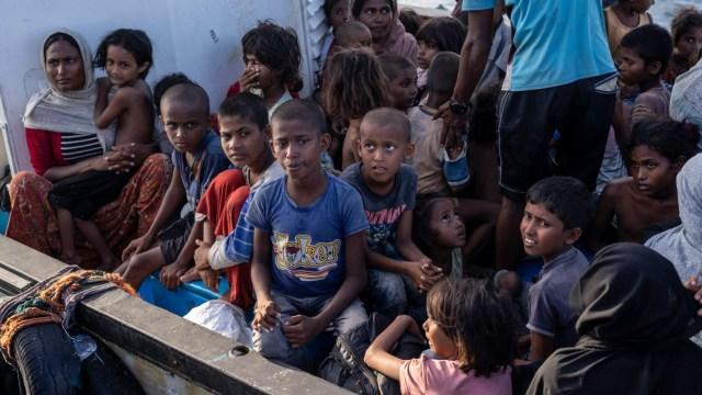 Bikin Haru, Tatapan Anak Pengungsi Rohingya di Aceh  (229753)