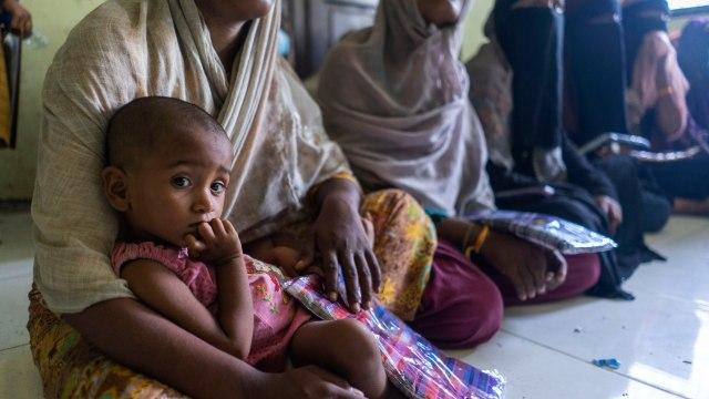 Bikin Haru, Tatapan Anak Pengungsi Rohingya di Aceh  (229754)