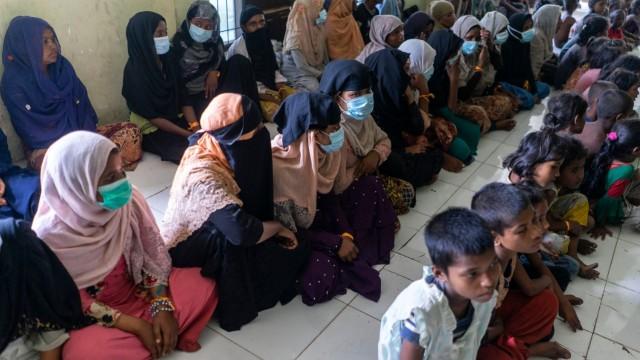 Bikin Haru, Tatapan Anak Pengungsi Rohingya di Aceh  (229756)